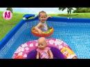 🌸Кукла Беби Бон и её приключения в БАССЕЙНЕ BABY Born doll Видео для детей Fun for kids in the pool