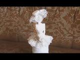 Cách làm búp bê công chúa từ giấy báo và chai nhựa