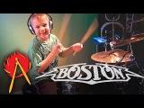 Smokin (Drum Cover) 6 year old Drummer - Avery Drummer Molek