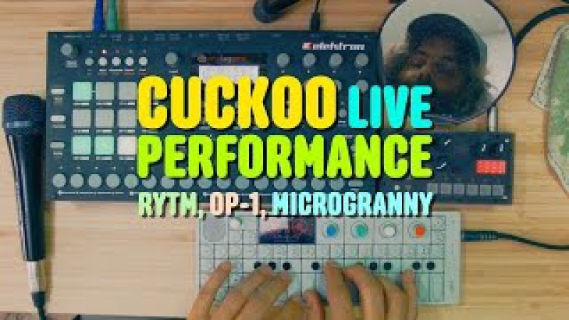 OP-1 Rytm microGranny 2 Live Performance by CUCKOO