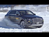 Powersliding in the Snow in a 600HP Luxury SUV! - Bentley Bentayga 6.0 W12