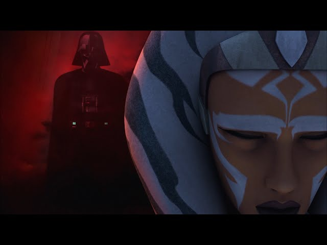 Ahsoka and Anakin / Vader