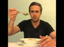 Ryan Gosling Won't Eat His Cereal - answer