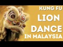 Кунг Фу Танец Льва - Kung Fu Lion Dance Competition in Penang, Malaysia