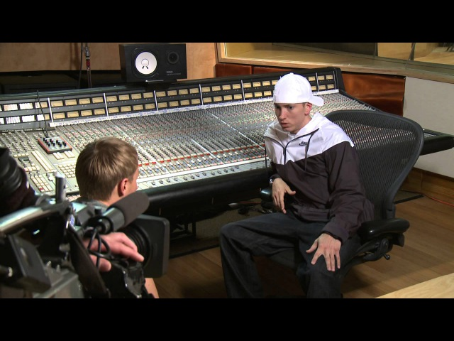 Hooking Up With Eminem - RAW INTERVIEW Part 2 of 2