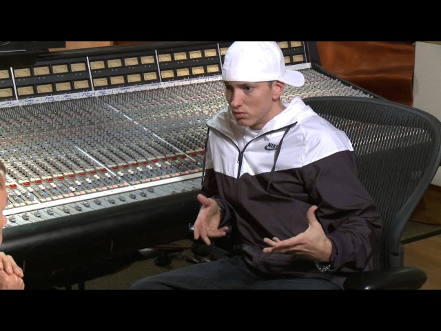 Hooking Up With Eminem - RAW INTERVIEW Part 1 of 2