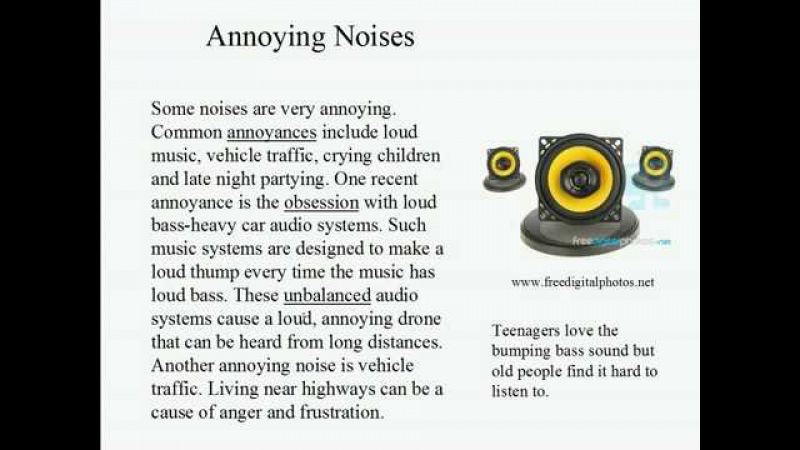 Live Intermediate English Lesson 52 How much noise 1 Annoying Noises
