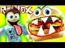 ПОБЕГ из УЖАСНОГО РЕСТОРАНА в ROBLOX Побег в Роблокс мульт  героя видео для детей ка...