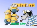 Song for kids HEAD SHOULDERS KNEES and TOES MINIONS