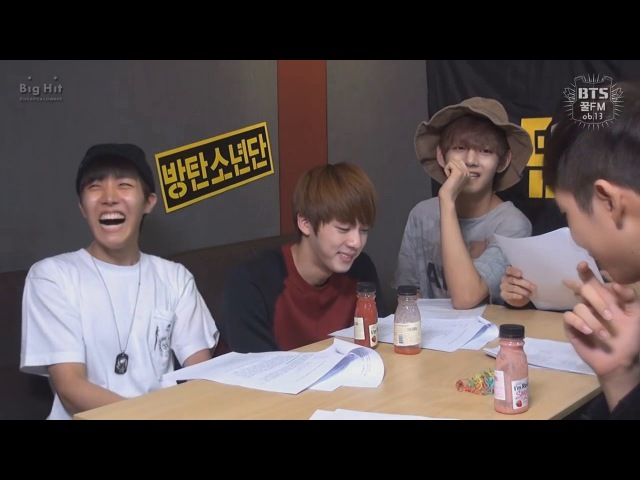 [Озвучка] BTS 꿀 FM 06.13 Congratulation of BTS 100 days