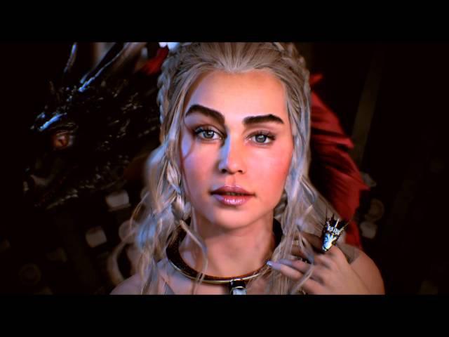 Realtime character Khaleesi Unreal engine 4
