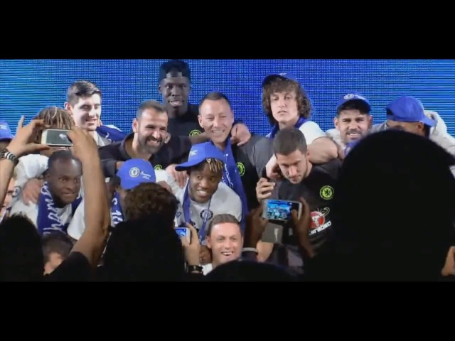 Exclusive Ceremony Farewell to John Terry players of Chelsea FC