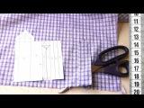Я ШЬЮ: Платье-рубашка ШЛИЦА В РУКАВЕ с ЦЕЛЬНОКРОЕНОЙ ОБТАЧКОЙ ч.3