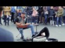 Guitar Tapping Street Performance in London by MORF INSANE