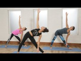 Power Yoga For a Tight Core and Butt  Class FitSugar