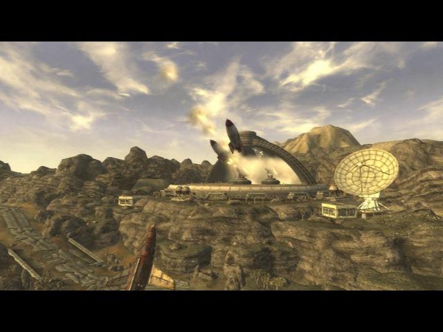 Fallout New Vegas запуск Ракет с Гулями
