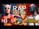 Рэп Баттл - PlayerUnknown's Battlegrounds vs. H1Z1: King of the Kill (PUBG vs. H1Z1)