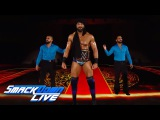 WWE Champion Jinder Mahal's jaw-dropping entrance SmackDown LIVE, June 6, 2017