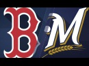 5/10/17: Brewers' four-run 5th inning buries Red Sox