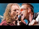 U2 Robert Plant Trampled under foot live Led Zeppelin cover London 2016 HD Multicam fan mix