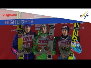Highlights | Domen Prevc reigns supreme in Lillehammer | FIS Ski Jumping