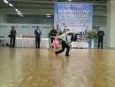 Соревнование по спортивным бальным танцам. Никита Шатских. Медленный вальс.