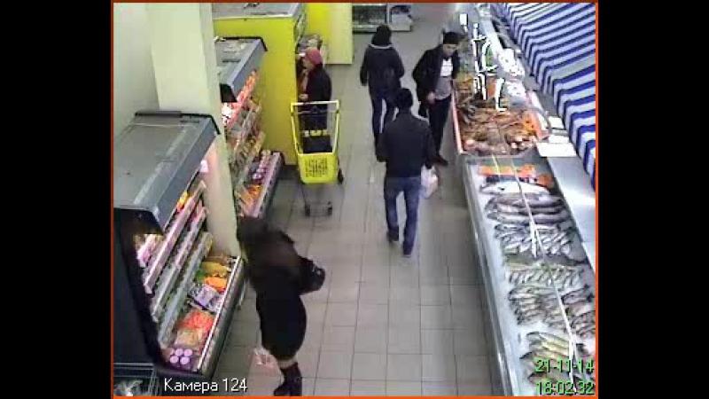 Заготовка проуктів у супермаркеті