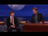 Эван Питерс на Шоу Конана, 4.10.16: о сцене из сериала