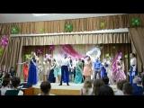 Танец. Поздравление учителям