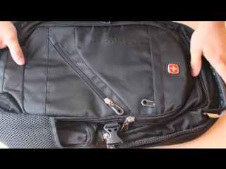 Рюкзак SWISSGEAR ОБЗОР - швейцарское качество.