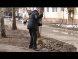 Акция Чистый двор - чистая совесть (Ленинский район Уфы, 22.04.2017)