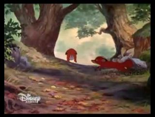 Лис и пес  на Канале Disney