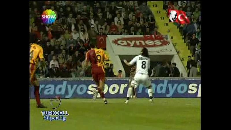 28 Ekim 2007 Denizlispor 1 - Galatasaray 2