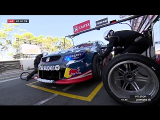 V8 Supercars 2016. Этап 14 - Сидней. Первая гонка