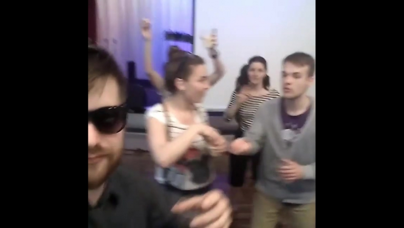 Команда молодёжного движения Хатиква на Вечеринке Кино