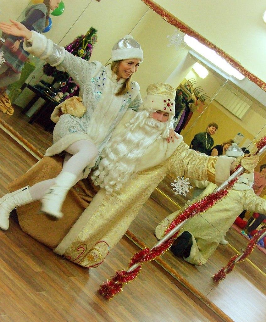 Афиша Тольятти Дед Мороз и Снегурочка в Тольятти! Настоящие!!!