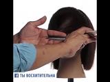 Потрясающая техника женской стрижки
