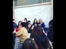 2016.12.13 Во время съемок 6 эпизода в перерыве Гон Ю, Ким Го Ын и кто-то со съемочной площадки обедают в кафе