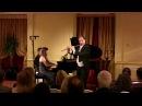 George Enescu: Cantabile et Presto - Claudio Barile -flute - Paula Peluso- piano-