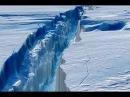 Гигантский разлом ледника 40-километровой трещины в Антарктиде