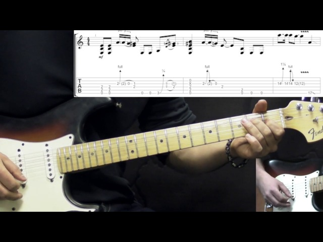 Jimi Hendrix - Voodoo Chile (Intro) - Rock Guitar Lesson (w/Tabs)