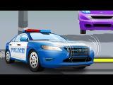 The Blue Police Car &amp Little Pink Car - Cars &amp Trucks Cartoon Kids Compilation - Video for children