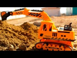 Real Diggers - Excavator Truck Colors Trucks for Children Learning Educational Video  Kids Cartoon