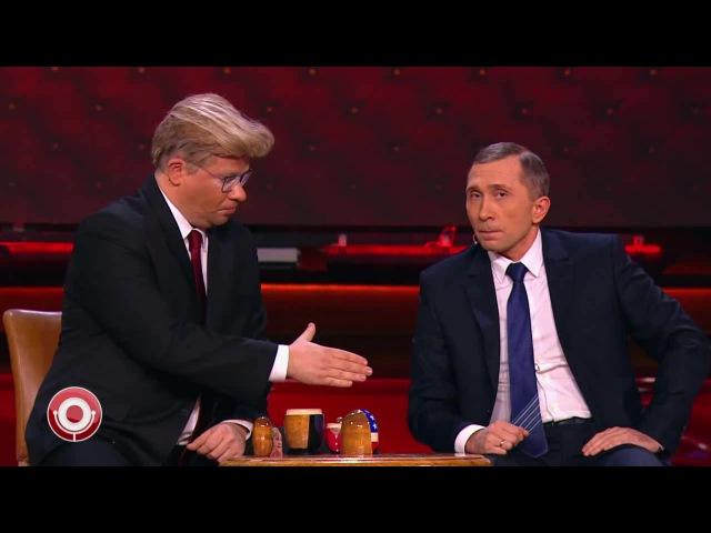 Матрёшка Трампа. Трамп и Путин играют в крокодил в Comedy
