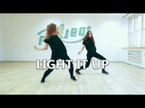 LIGHT IT UP - Major Lazer ft. Nyla &amp Fuse ODG. Dancehall by Anna Volkova