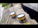 Бассейн из бетона своими руками часть 2