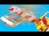 iPhone 7 ПРОТИВ БЕНЗОПИЛЫ!   РАСПИЛИЛ АЙФОН