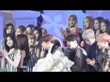 161119 블랙핑크(BLACKPINK)+트와이스(TWICE) - 엑소,방탄소년단 TOP10 수상 축하 직캠 Fancam (2016 멜론 뮤직 어워드) by Mera