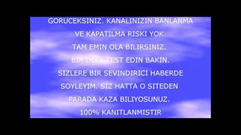 INTERNETDEN PARA KAZAN 1000KANITLANMIS SITE(KOLGE TV)