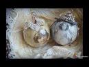 50 идей декупажа елочных шаров своими руками